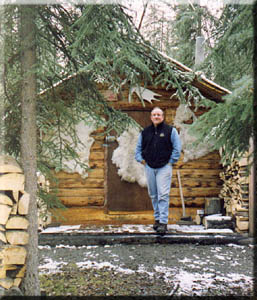 Walk Across America with author, Peter Jenkins, in Tok, Alaska