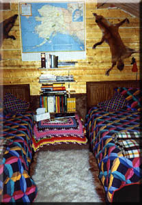 hideaway inside the Celebrity cabin-Alaska.