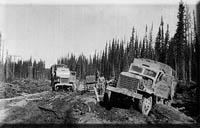 Tok history dates to the building of the Alcan, Alaska Highway.
