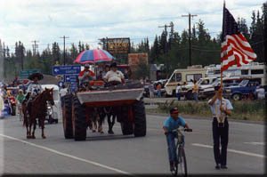More things to do in Tok, Alaska: watch the 4th of July parade, go hiking or biking.