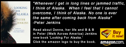 Looking for Alaska - Peter Jenkin's newest novel